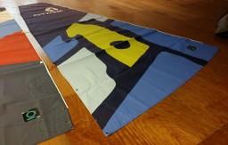 New sails & Repairs