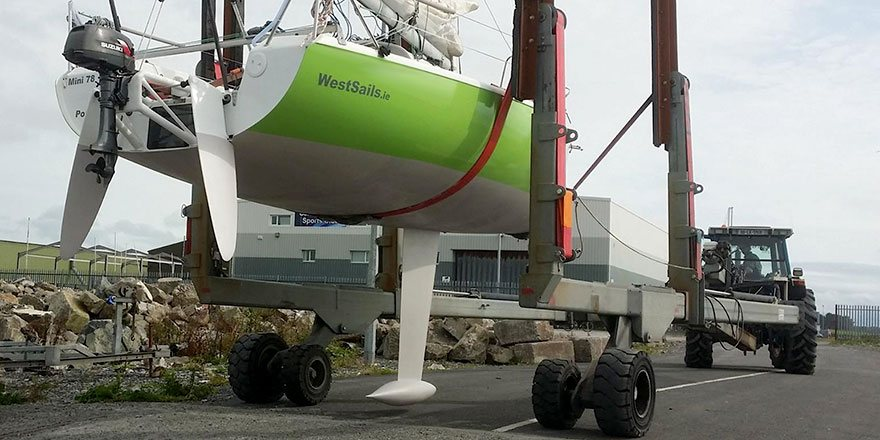 West Sails, Sailmakers, Galway Have Moved To Oranmore, Galway, Ireland.